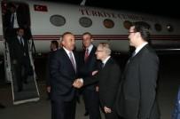 BRÜKSEL - Çavuşoğlu, Romanya Dışişleri Bakanı Melescanu ile görüştü