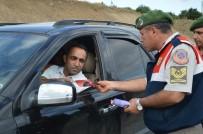Jandarma'dan Bayram Trafiğine Dronlu Denetim