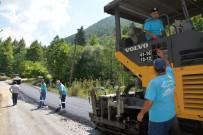 Kartepe Dağ Grup Yolu'nda Asfaltlama Çalışmaları Başladı