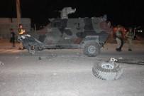 HATALı SOLLAMA - Kobra İle Otomobil Çarpıştı Açıklaması 1 Yaralı