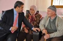 SAÇ KESİMİ - Nazilli Belediyesi Yatalak Hasta Ve Yaşlıları Bayrama Hazırlıyor