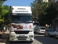 ÖMER KARAMAN - Suriyeli Göçmenler İçin 6 Tır Yardım Darıca'dan Yola Çıktı