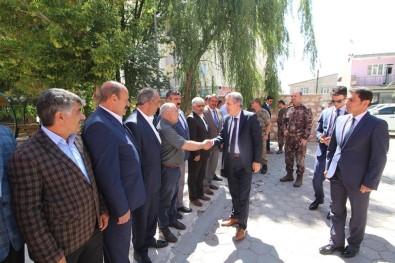 Vali Elban, Diyadin'de İncelemelerde Bulundu