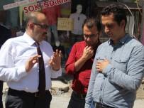 UZUV - Vali Ustaoğlu, Sokak Sağlıklaştırma Çalışmalarını İnceledi