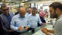 BAYRAM ALIŞVERİŞİ - Başbakan Yardımcısı Işık'tan Sürpriz Esnaf Ziyareti