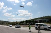 JANDARMA ALAY KOMUTANLIĞI - Bayram Trafiğinde Drone'lar Ceza Yağdırıyor
