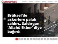 BRÜKSEL - Cumhuriyet Gazetesi'nin İslam düşmanlığı