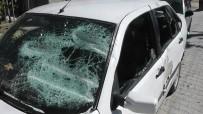 TEVFİK FİKRET - Kavga Ettiği Komşusunun Otomobilini Bu Hale Getirdi