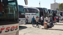 OTOBÜS TERMİNALİ - Kızıltepe Otogarında Kurban Bayramı Yoğunluğu