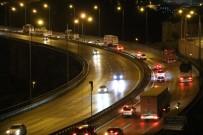 ESKIHISAR - Kocaeli TEM'de Trafik Normal Seyrinde