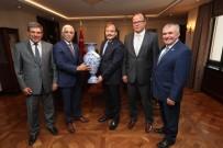 TARıM SIGORTALARı HAVUZU - Marmarabirlik'ten Çavuşoğlu'na Ziyaret