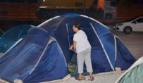 Milas'ta Deprem Korkusu Vatandaşları Evinden Etti