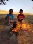 Tutak'ta Çocukların Çay Keyfi
