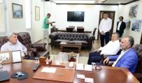 İSMAIL YıLDıRıM - Başkan Karaosmanoğlu, Başkan Yıldırım'ı Ziyaret Etti
