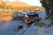 Başkent'te Trafik Kazası Açıklaması 2 Yaralı