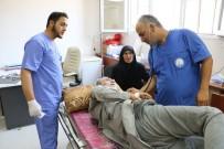 NORMAL DOĞUM - Cerablus'ta Sağlık Bakanlığının Sahra Hastanesi Suriyelilere Şifa Oluyor