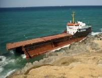 KURU YÜK GEMİSİ - Sarıyer'de yük gemisi ortadan ikiye ayrıldı