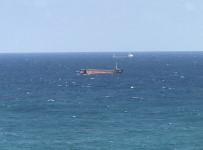 KURU YÜK GEMİSİ - Kilyos Açıklarında Yük Gemisi Ortadan İkiye Ayrıldı