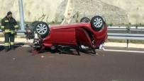 ALI GÜRBÜZ - Otobanda Trafik Kazası Açıklaması 1 Ölü, 4 Yaralı