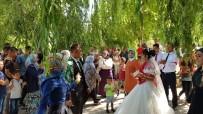 DÜĞÜN FOTOĞRAFI - Sultan Sazlığı, Yeni Evlenen Çiftlerin Gözdesi Oldu