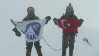 KARA DELIK - Türk Dağcılar İsviçre'nin Zirvesine Tırmandı