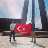 ÜLKÜCÜLER - Ülkü Ocakları İl Başkanı Emrah Yılan Türkistan Gezisinde