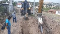 YAĞCıLAR - Yağcılar Mahallesi'ne Ek Kanalizasyon Hattı