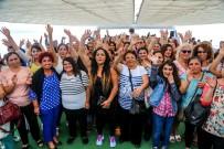 HAYDARPAŞA - 7 Bin Kadın Boğaz'la Buluştu