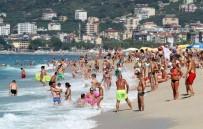 KLEOPATRA - Alanya'da Plajlar Tıklım Tıklım