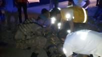 Askerleri taşıyan araç kaza yaptı