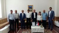 PORSELEN TABAK - Asimder'den Iğdır Üniversitesi Rektörü Yılmaz'a Ziyaret