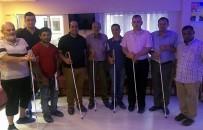 ALTI NOKTA KÖRLER DERNEĞİ - Aydın'da Görme Engellilere Beyaz Baston Dağıtıldı