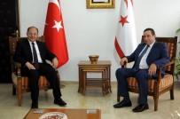 RECEP AKDAĞ - Başbakan Yardımcısı Akdağ, KKTC Maliye Bakanı Denktaş İle Görüştü