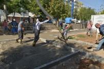 EMNIYET ŞERIDI - Belediye Ekipleri Eskiyen Ve Kırılan Çocuk Oyun Gruplarını Değiştiriyor
