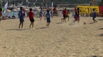 GÜNDOĞAN - Çocuklar Plaj Futbol Turnuvası, Türkiye'de İlk Kez Bodrum'da Düzenlendi