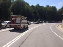 DEREKÖY - Dereköy Sınır Kapısı'nda 5 Kilometrelik Araç Kuyruğu