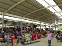 PAZARCI - Hisarcık'ta Kapalı Pazar Yeri Hizmete Girdi