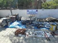 KAYNAK MAKİNESİ - Jandarma'dan İş Yeri Hırsızlarına Suçüstü