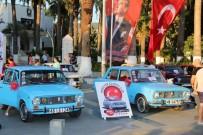 KLASİK OTOMOBİL - Klasik Murat 124'Ler Bodrum'da Buluştu