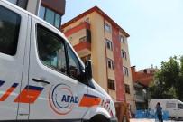 ÇÖKME TEHLİKESİ - Konya'da 5 Katlı Bina Çökme Riski Nedeniyle Boşaltıldı