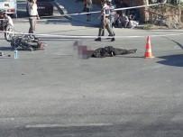 KOCABAŞ - Motosiklet Kavşakta Servis Minibüsüne Çarptı Açıklaması 1 Ölü