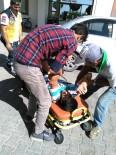 KESMETEPE - Otomobil İle Bisiklet Çarpıştı Açıklaması 1 Yaralı