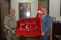 SİİRT VALİSİ - Van Asayiş Jandarma Komutanı Korgeneral Karataş, Siirt'te