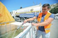 TRAFİK SORUNU - Yenimahalle'de Kurban Kesim Alanında Hazırlıklar Tamamlandı
