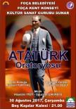 YURTTAŞ - Zafer Bayramı'nda Atatürk Oratoryosu