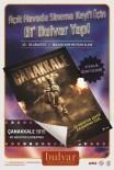 ÇANAKKALE 1915 - Açık Hava Sinema Etkinliği 'Çanakkale 1915' Filmiyle Final Yapacak