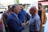 BAYRAM ALIŞVERİŞİ - Başkan Çelik Camii Kebir Esnafını Ziyaret Etti