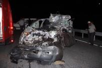 Bolu'da Feci Kaza Açıklaması 1 Ölü, 1 Yaralı