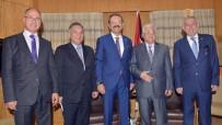CENİN - Filistin Devlet Başkanı Abbas, TOBB Başkanı Hisarcıklıoğlu İle Görüştü
