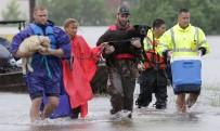 SU BASKINI - Houston'daki Kasırga Felaketinde 9 Kişi Öldü